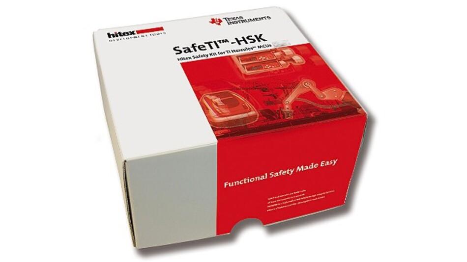 In eine kompakte Verpackung passt das Evaluierungs-Kit »SafeTI-HSK« von Hitex und TI.