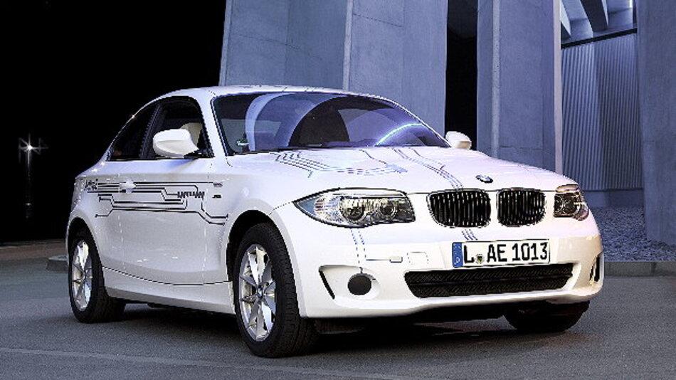 Münchner DriveNow Nutzer haben ab sofort Zugriff auf den vollelektrischen BMW ActiveE.