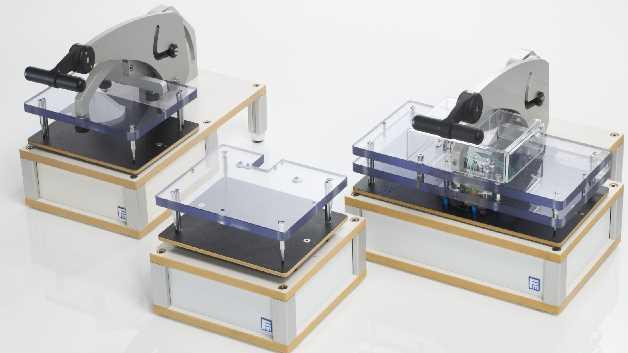 Einfacher mechanischer Adapter, Vakuum-Adapter oder In-Line-Adapter – für jeden Einsatz eine passende Lösung.