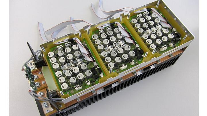 Der Frequenzumrichter der nächsten Generation in der 15 kW Variante.