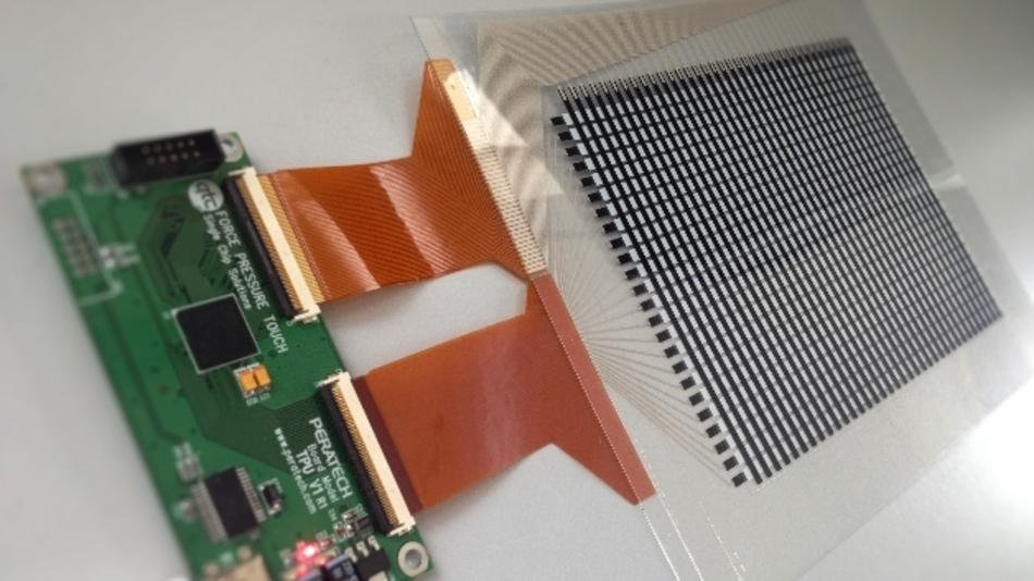 »QTC Ultra Touch« lässt sich hinter dem Display anbringen
