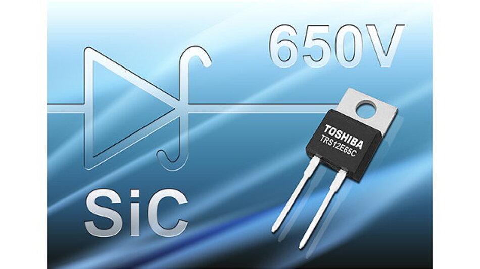 1)Mit der Fertigung von SiC-Dioden steigt Toshiba Electronics in den SiC-Leistungshalbleitermarkt ein und will sich bis 2020 rund 30 Prozent dieses Marktes sichern.