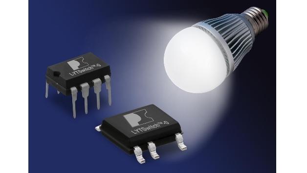 Gerade einmal 13 externe Bauteile benötigt das LED-Treiber-IC »LYTSwitch-0«, um eine GU10-Lampen zu treiben
