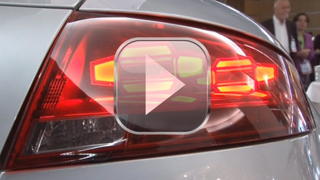 Audi OLED-Rücklicht