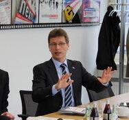 Rolf Braun,  Vorstand von Cema