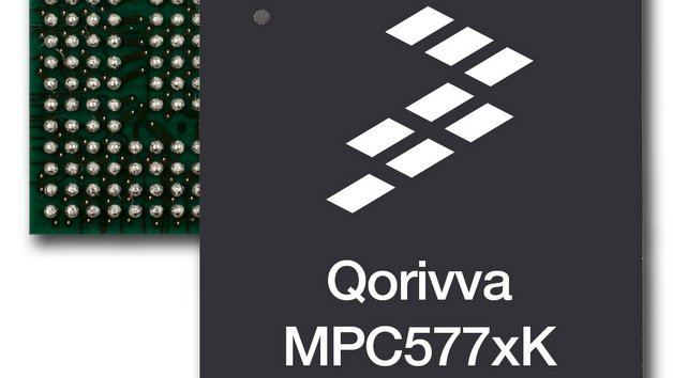 Der Qorivva MPC577xK Microcontroller von Freescale.