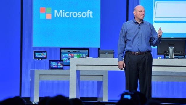 Microsoft-CEO Steve Ballmer auf der Entwicklerkonferenz Build 2013 in San Francisco.