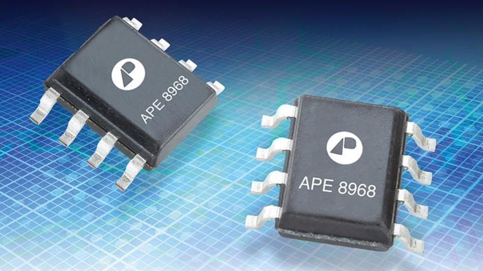 Der APE8968MP-HF3 ist für die Stabilisierung der Betriebsspannung auf der Leiterplatte konzipiert.