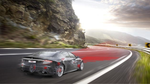 TRW arbeitet am autonomen Fahren und hat im ersten Schritt Technologien für das teilautomatisierte Fahren entwickelt.