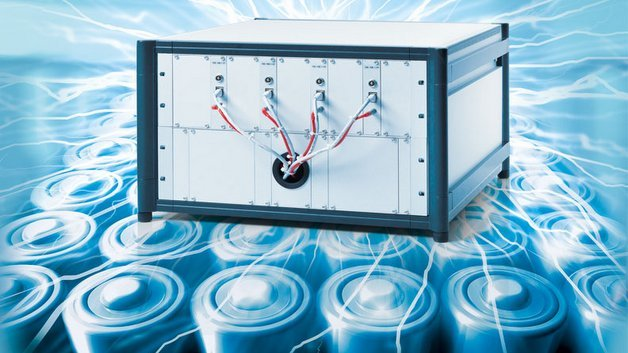 "Das ""Battery Cell Voltage Measurement and Balancing""-System von dSpace."