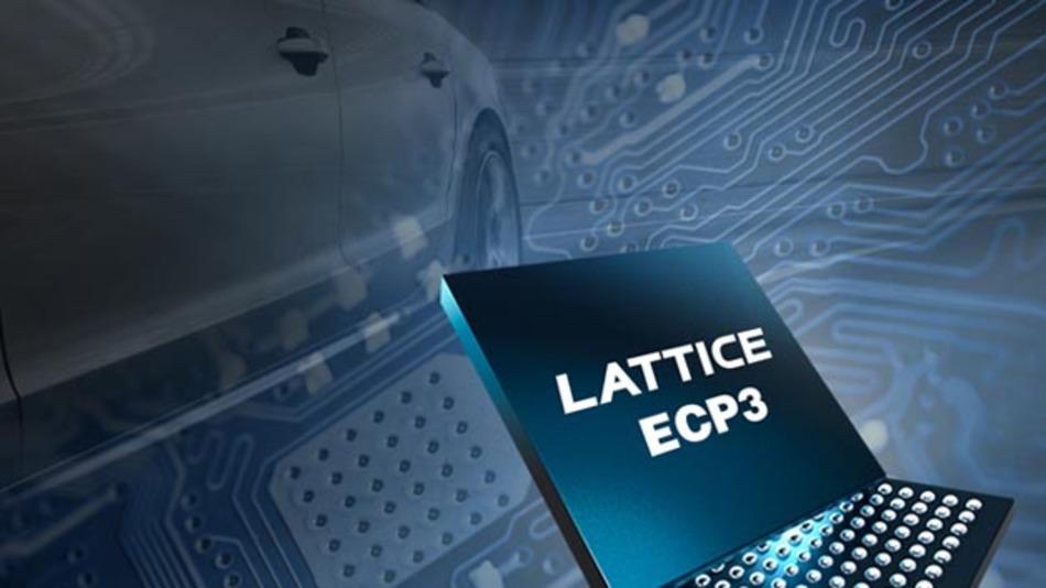Die FPGA-Serie LA-LatticeECP3 kommt zukünftig auch im Klein- und Mittelklassenwagen-Segment zum Einsatz.