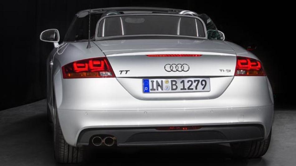Einsatz im Audi TT: 3-D-OLEDs für die Heckbeleuchtung.