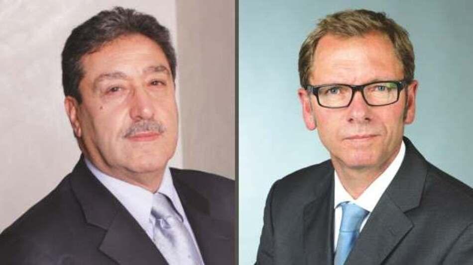 Gilles Benhamou (li.) und Hans Magon (re.), Asteelflash
