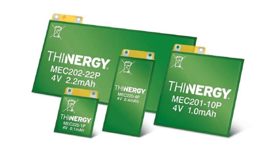 Bild 3. Das aktuelle Produktspektrum der Micro-Energy Cells umfasst verschiedene Typvarianten.