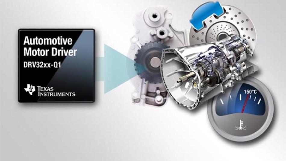 Texas Instruments unterstützt mit seiner DRV32xx-Q1-Baureihe bei der Entwicklung von funktional sicheren Systemen.