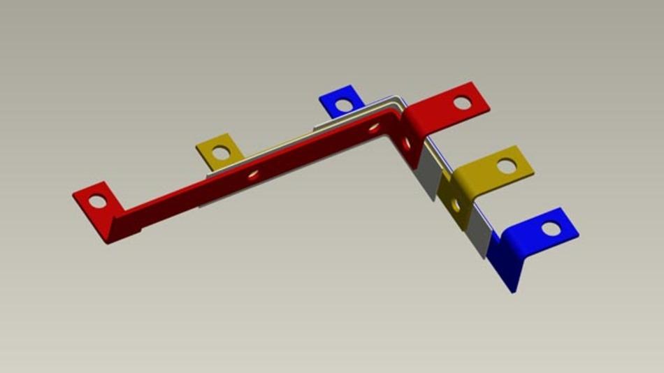 Durch die Konstruktion des Bus Bars lassen sich menschliche Fehlern während der Montage reduzieren.