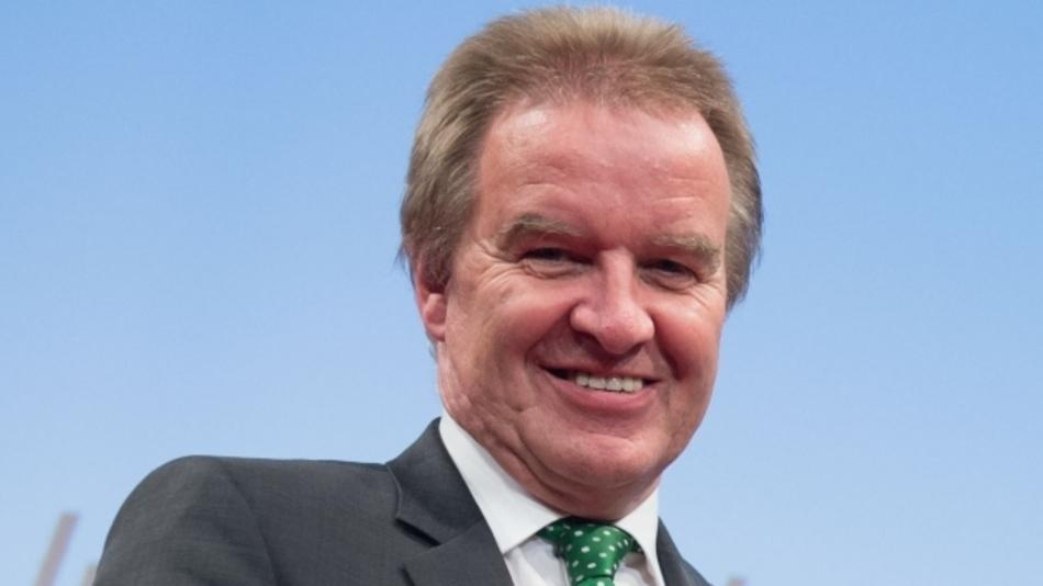 Der in Baden-Württemberg tätige Umweltminister Franz Untersteller