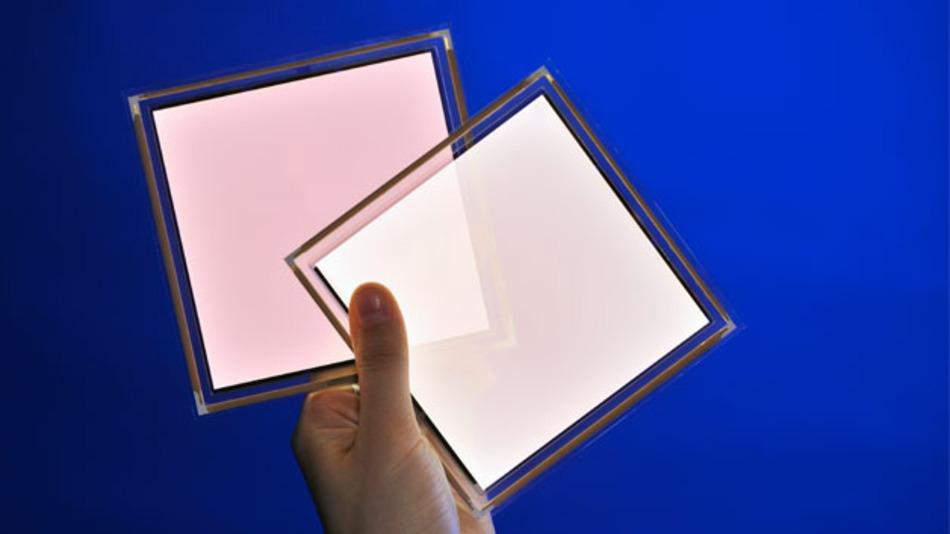Flach, leicht, durchsichtig aber leider sehr teuer. Der Preis ist bisher ein großes Hindernis bei der Verbreitung der OLED.