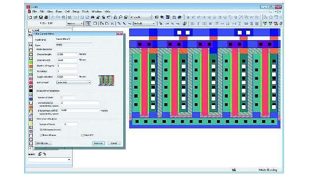Bild 1: Beispiel Stromspiegel