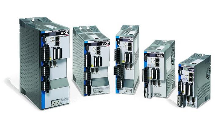EtherCAT-Servoantriebe der Serie AKD von Kollmorgen