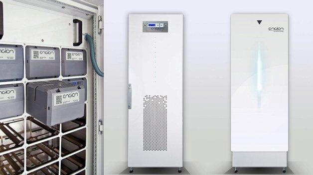 """Energiezwischenspeicher """"Engion Family"""" auf Systemtechnik von Rittal"""