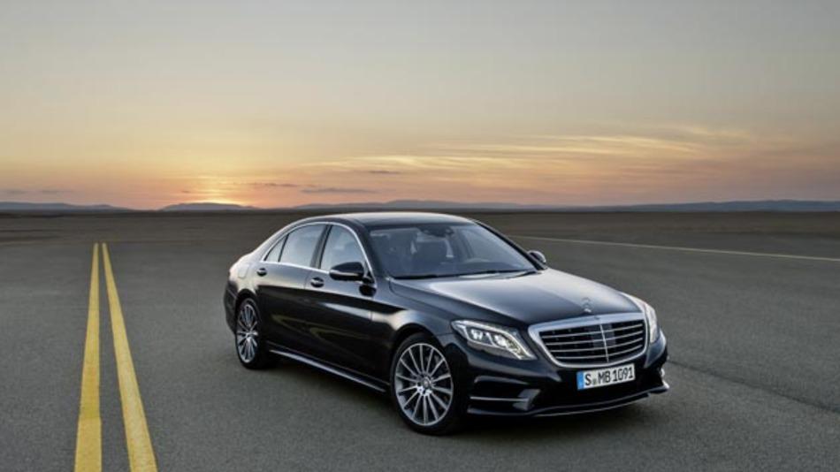Ab sofort beim Händler: Die neue Mercedes Benz S-Klasse.