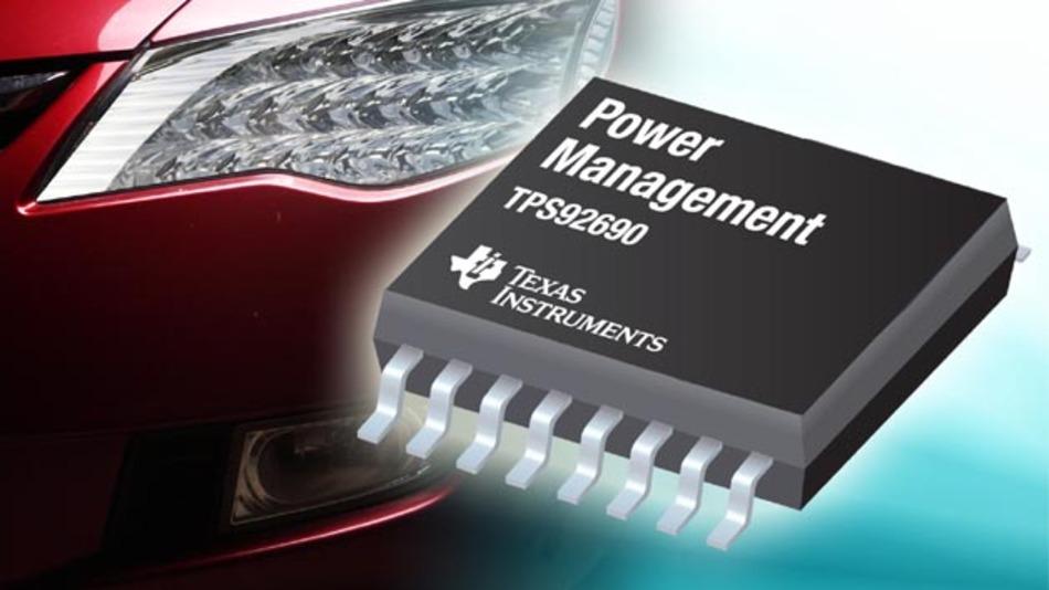 Geeignet für den Einsatz in Scheinwerfern und Nebelschlussleuchten: der TSP92690.