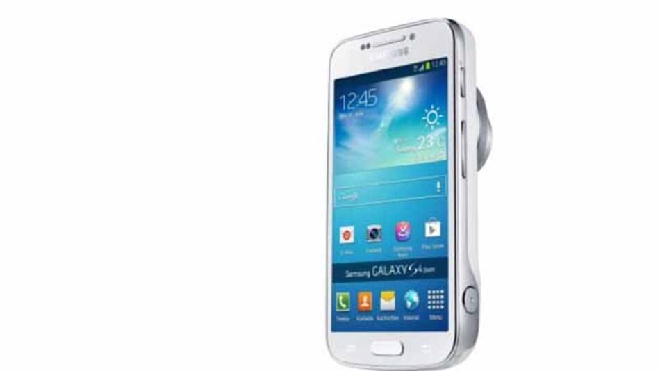 Nur etwas dicker als das Smartphone ist das Kamera-Phone.