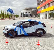 TU München, teleoperiertes Fahren, Projekt Visio M, Andreas Heddergott TUM