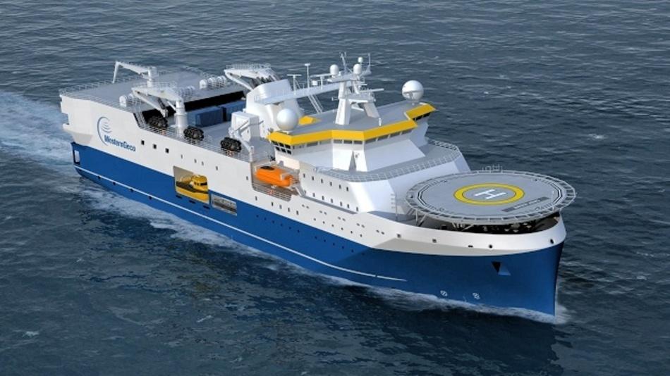 Friesland Kabel verkabelt neue Seismik-Schiffe