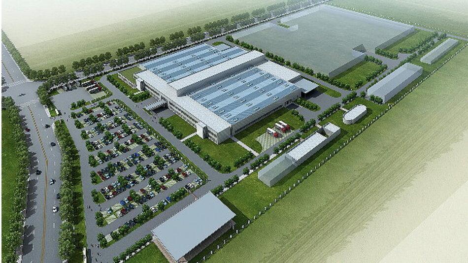 Die Gesamtfläche des neuen Standorts von Bosch beträgt rund 127.000 Quadratmeter.