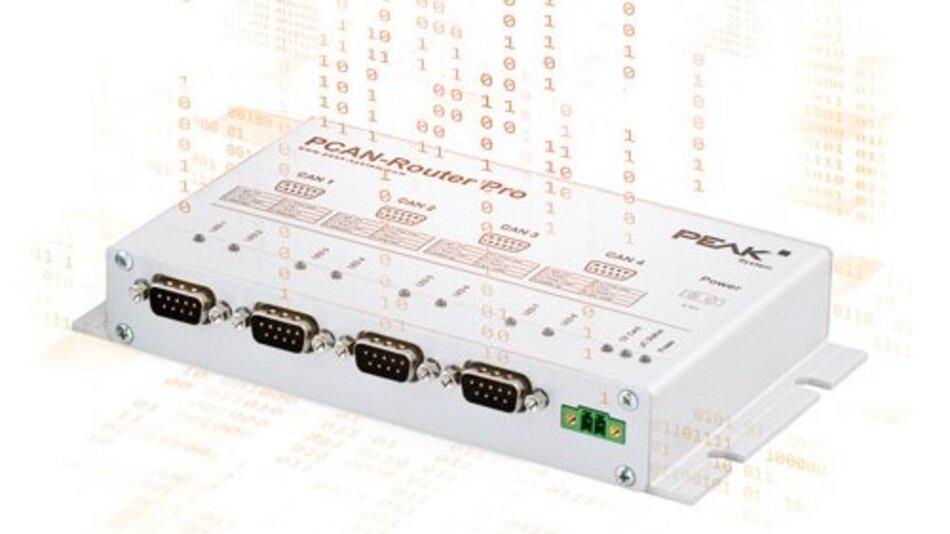 Der PCAN-Router Pro von Peak-System.