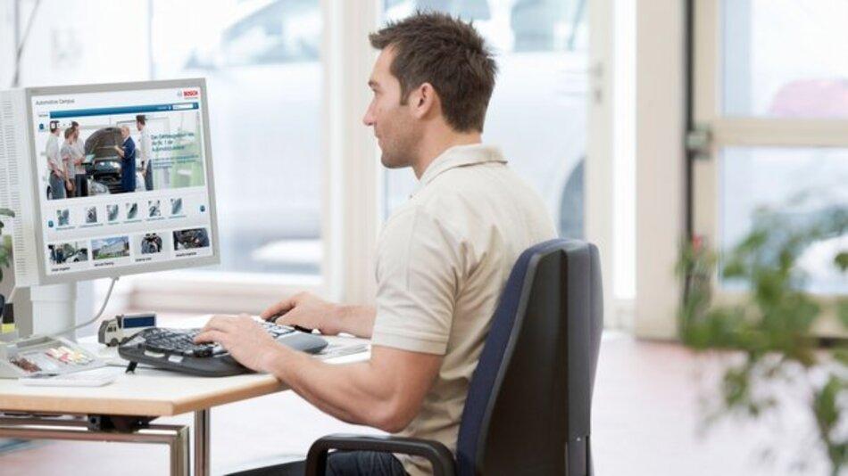 Mit Online-Trainingsangeboten unabhängig von Zeit und Ort lernen.