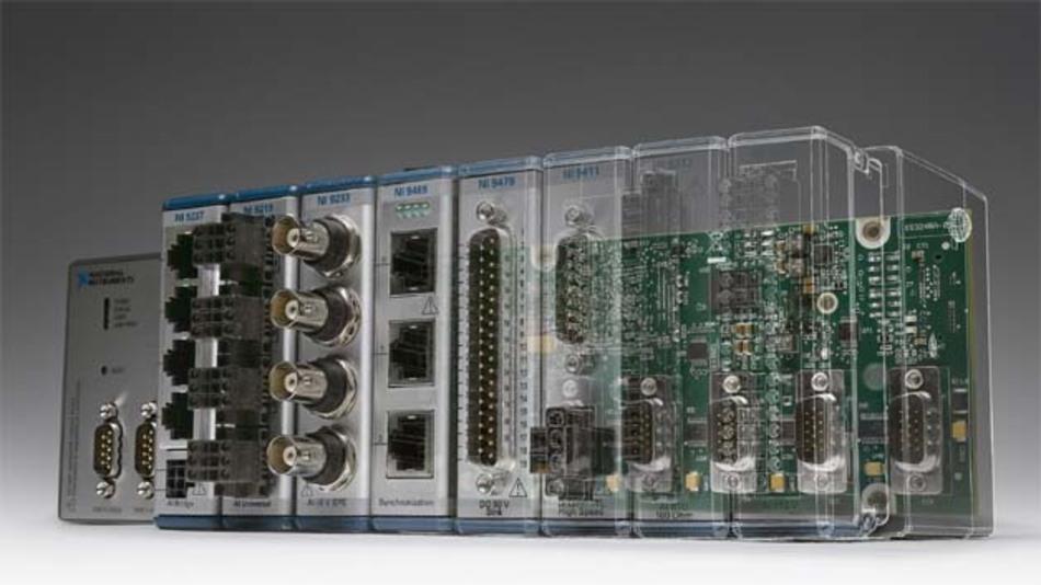 Der neue Controller ist auch in seiner Grund-Hardware-Struktur durch Software modifizierbar.