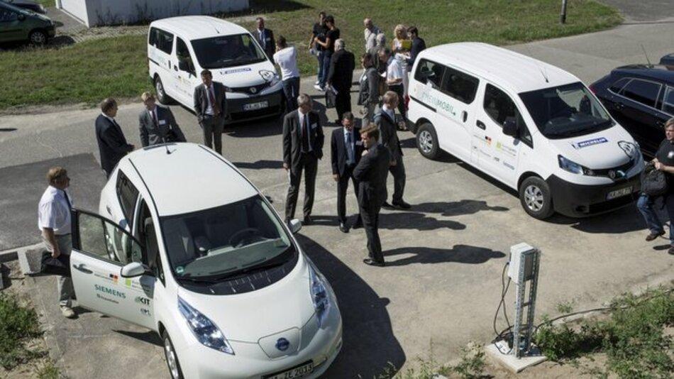 Das Elektromobilitätsprojekt RheinMobil.