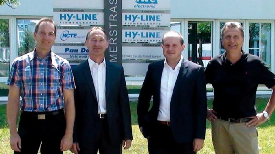 Distributions-Abkommen zwischen FTS und Hy-Line.