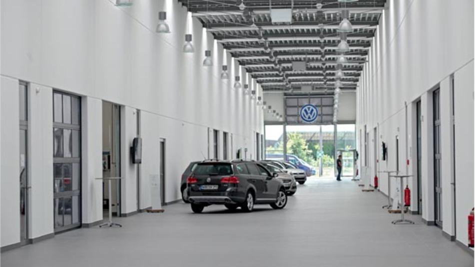 Neues Volkswagen-Qualifizierungszentrum in Freising.