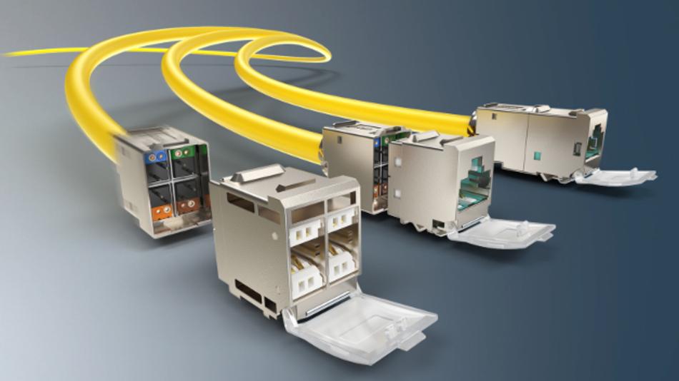 Irgendwann wird der RJ45 mit der Erhöhung der Datenraten anderen Steckverbindern weichen müssen. Bis es soweit ist, können Adapterstecker die Abwärtskompatibilität sichern.