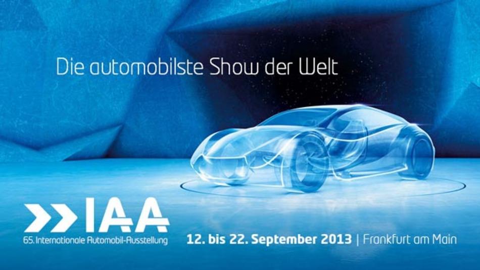 Die 65. IAA öffnet vom 12.bis 22.September 2013 ihr Pforten.