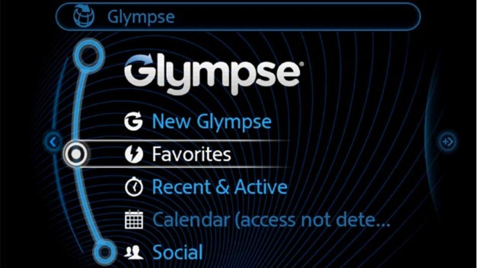 Die App Glympse liefert Echtzeitinformationen über den aktuellen Aufenthaltsort an einen vorher definierten Personenkreis.