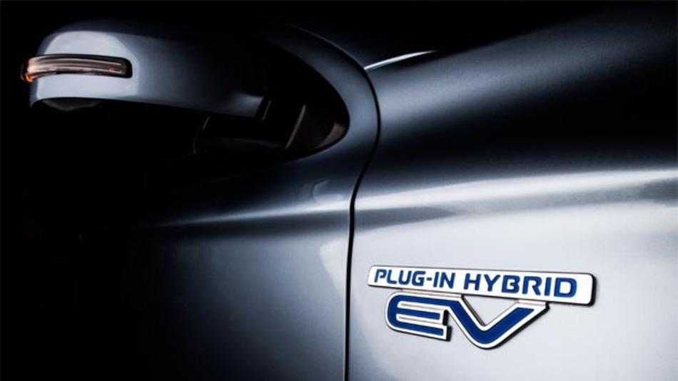 Deutschlandpremiere für den Mitsubishi Outlander Plug-In-Hybrid.