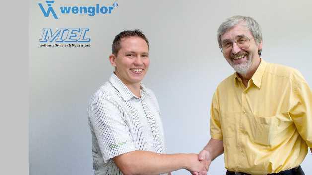 Ziehen künftig an einem Strang: Der neue MEL-Geschäftsführer Torsten Hellerström für die Wenglor Sensoric GmbH und MEL-Firmengründer und -Geschäftsführer Hans-Jürgen Langer.