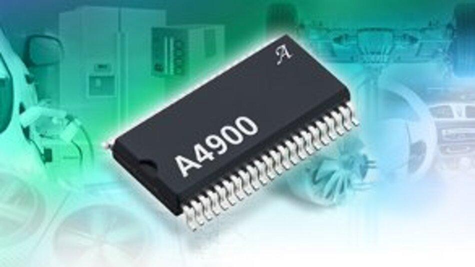 Das Motortreiber-IC A4900 von Allegro MicroSystems.