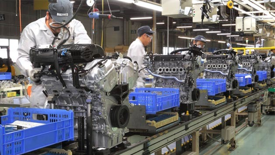 Mazda zieht die Produktion seiner Skyactiv-Motoren an.