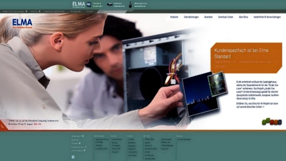Das Produktportfolio der Elma-Firmengruppe umfasst mehr als 16.000 Teile: u.a. Gehäuse, Schränke und hochwertige Schalter