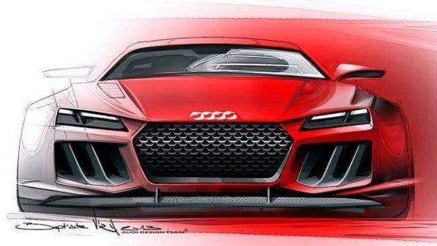 """Klare Kante(n): Die Studie """"Sport Quattro Concept"""" von Audi."""