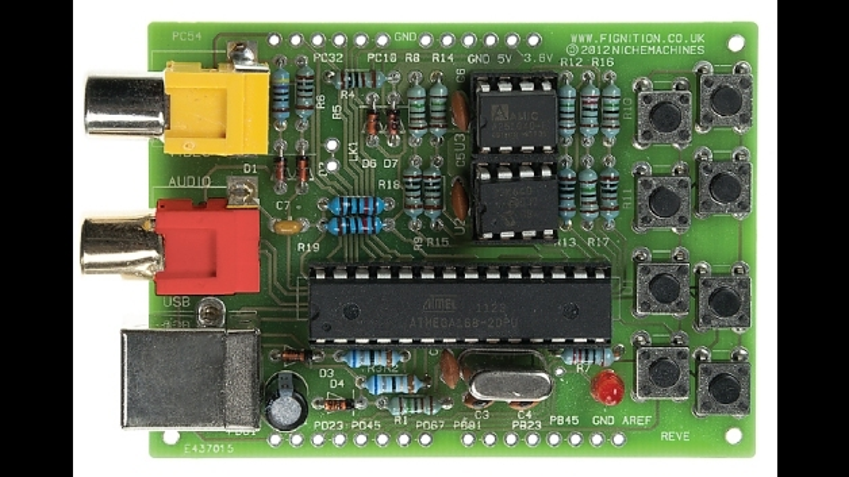 Komplette Platine für Computer-Anfänger