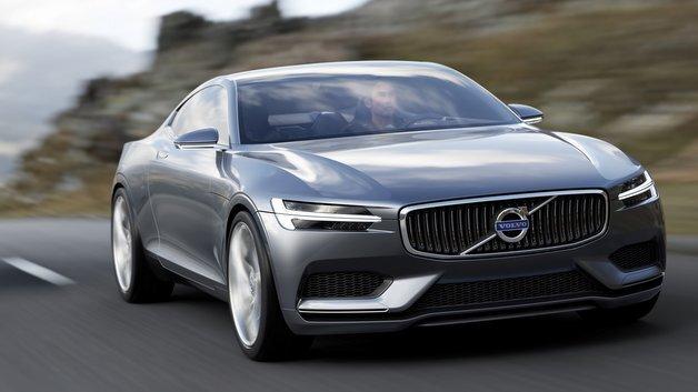 Dynamischer Auftritt: das Volvo Concept Coupé.