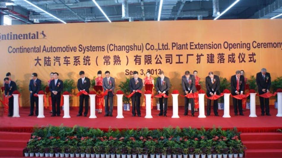 Continental vergrößert sein Werk im chinesischen Changshu.