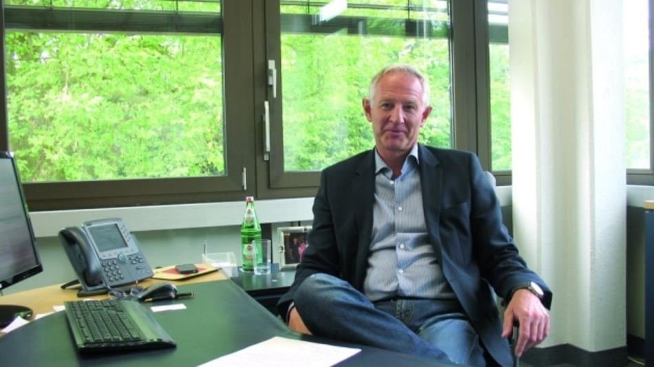 Manfred Sweekhorst, Geschäfstführer der EAO GmbH